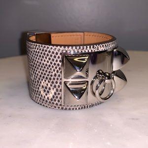 Hermès Collier de Chien (CDC) Bracelet, Lizard